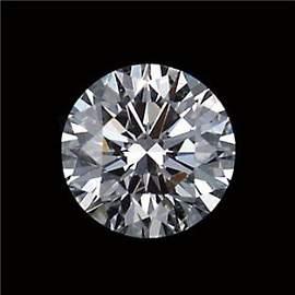 GIA CERT 0.34 CTW ROUND DIAMOND F/I1