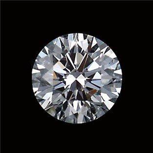 GIA CERT 0.58 CTW ROUND DIAMOND F/I2