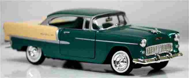 Collectors Edition 1955 Chevy Bel Air Hard Top (1/24 sc