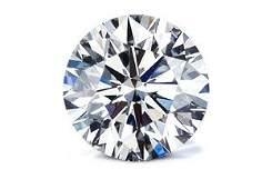 GIA CERT 0.42 CTW ROUND DIAMOND D/SI1