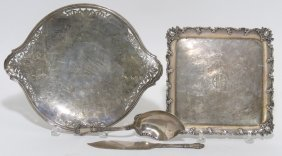 (on 4) GROUP OF GORHAM STERLING SILVER