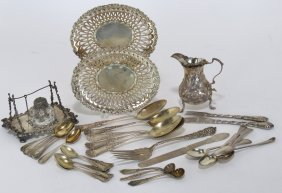 GROUP OF VARIOUS STERLING SILVER ITEMS