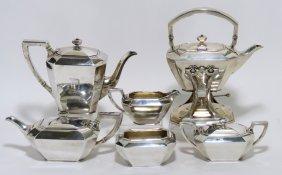 6-PIECE STERLING SILVER TEA SERVICE