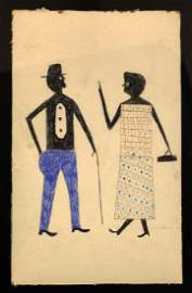BILL TRAYLOR (American, 1854-1949)