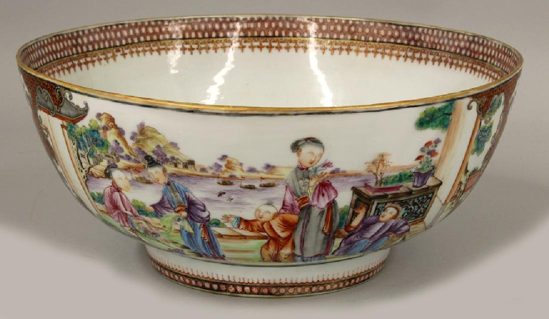 18TH C. CHINESE EXPORT PORCELAIN BOWL
