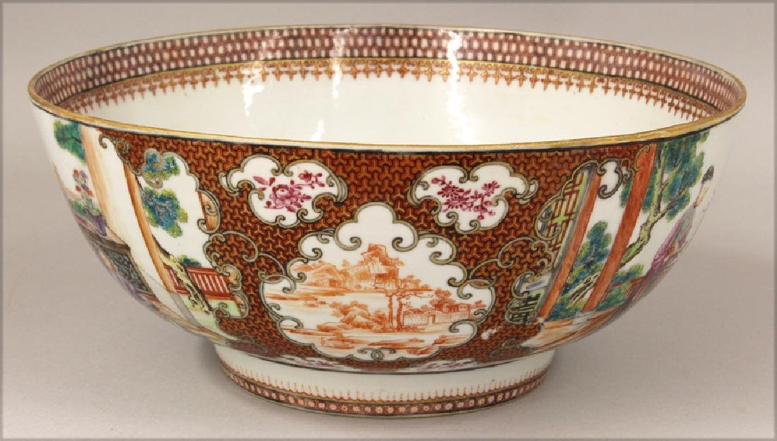 18TH C. CHINESE EXPORT PORCELAIN BOWL - 2