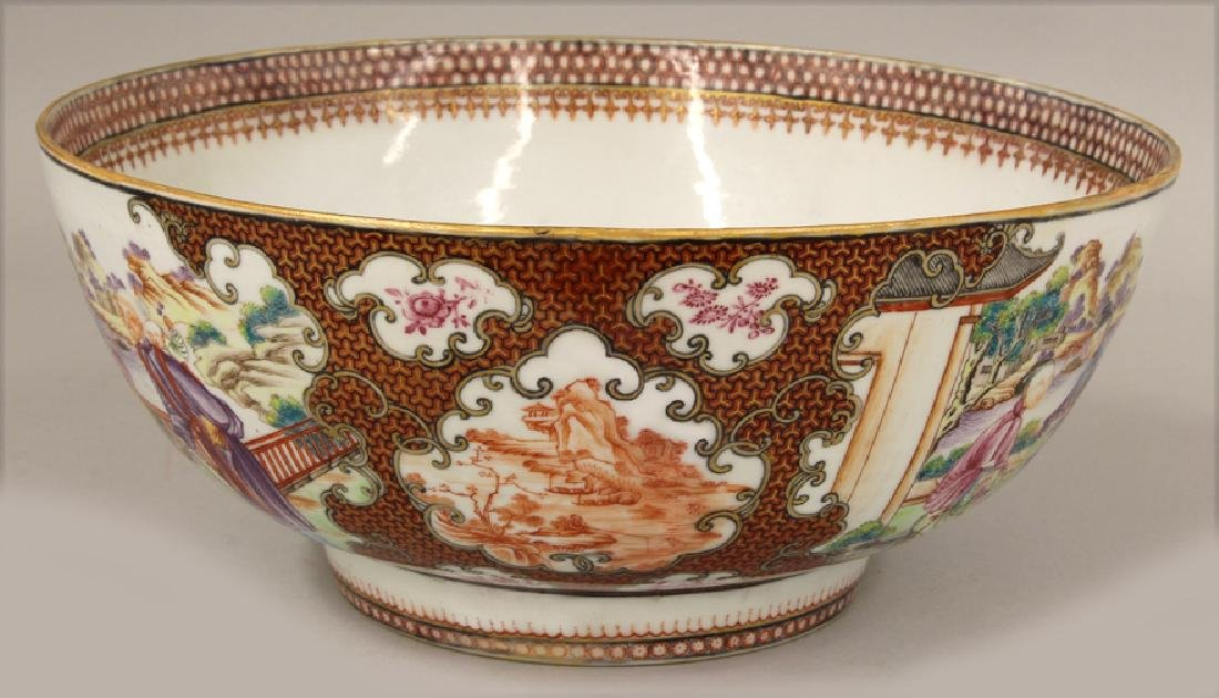 18TH C. CHINESE EXPORT PORCELAIN BOWL - 4