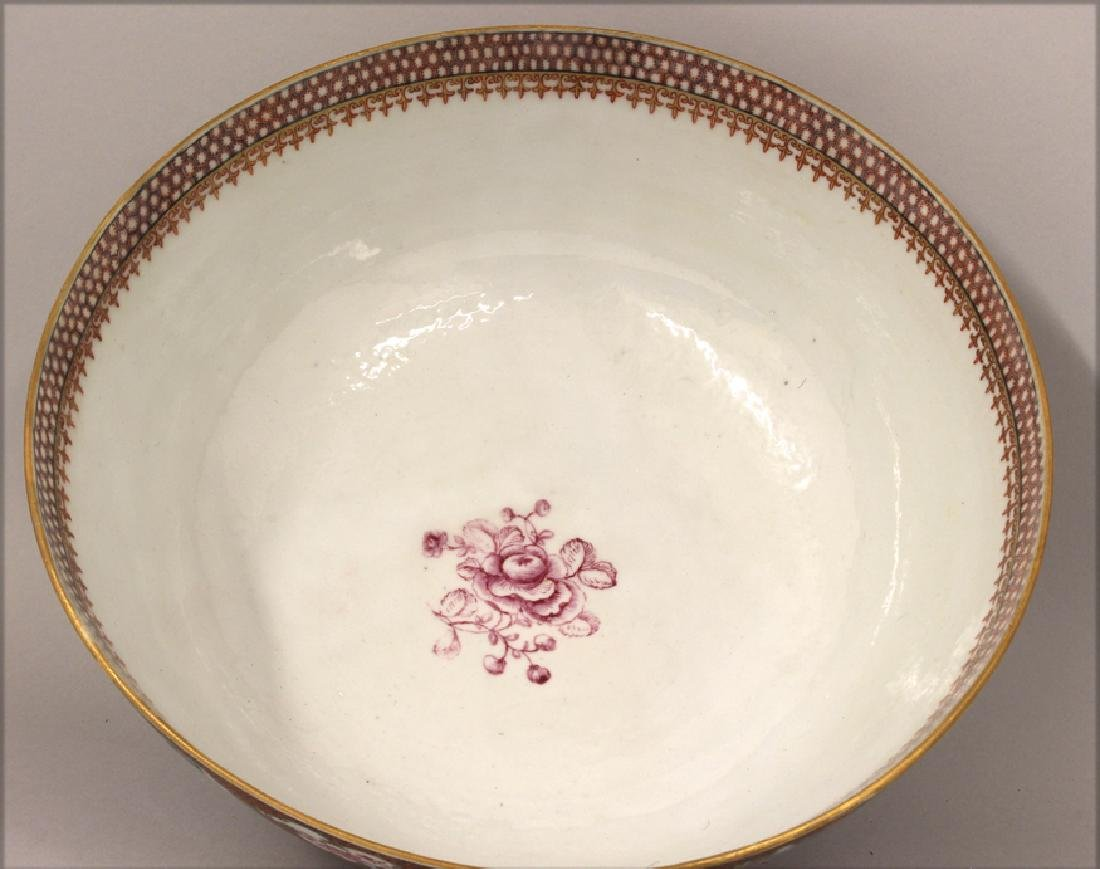18TH C. CHINESE EXPORT PORCELAIN BOWL - 5