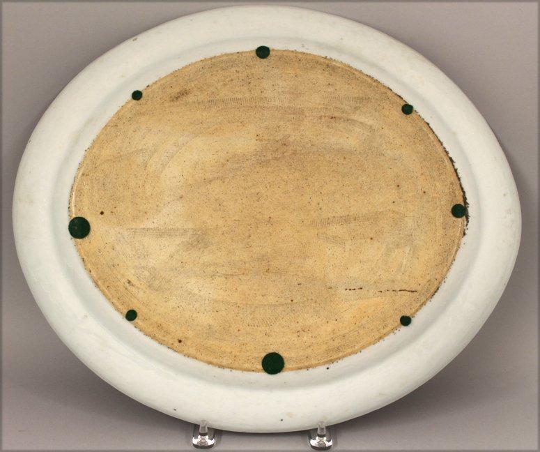 LARGE CHINESE ROSE MANDARIN MEAT PLATTER - 2