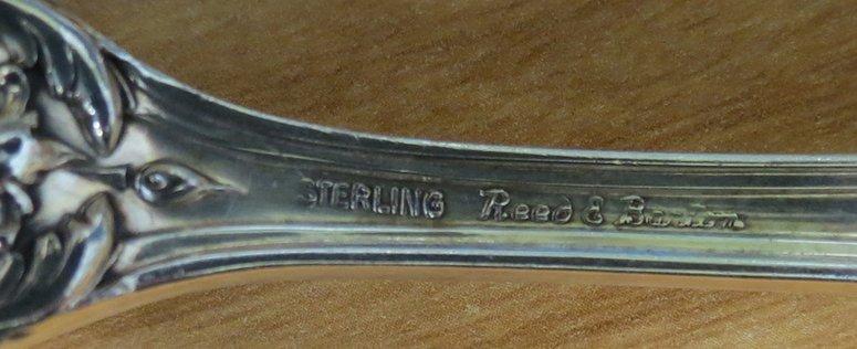 (on 18) STERLING SLIVER SERVING PIECES, FRANCIS I - 3