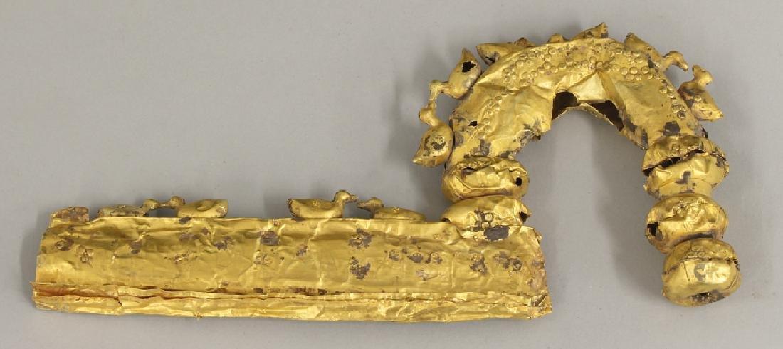 GOLD GREEK FIBULA
