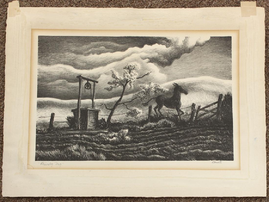 THOMAS HART BENTON (American, 1889-1975) - 2