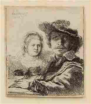 REMBRANDT VAN RIJN (Netherlands, 1606-1669)