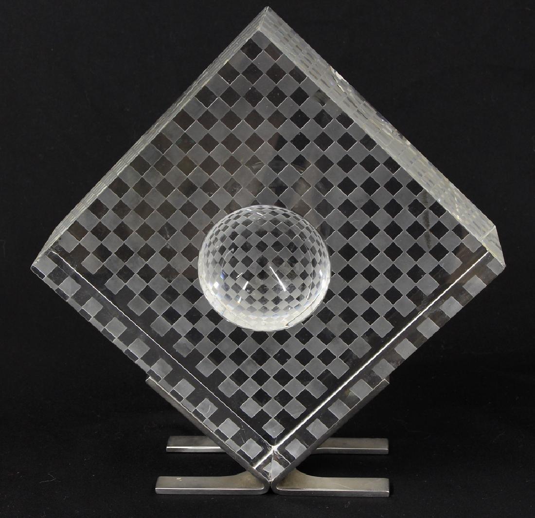 STEUBEN MID-CEN. MODERN GLASS SCULPTURE