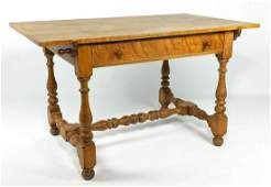 WALLACE NUTTING MAPLE TAVERN TABLE