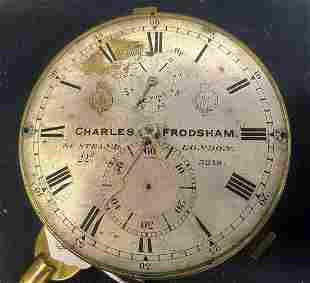 UNBOXED MARINE CHRONOMETER, FRODSHAM 3218