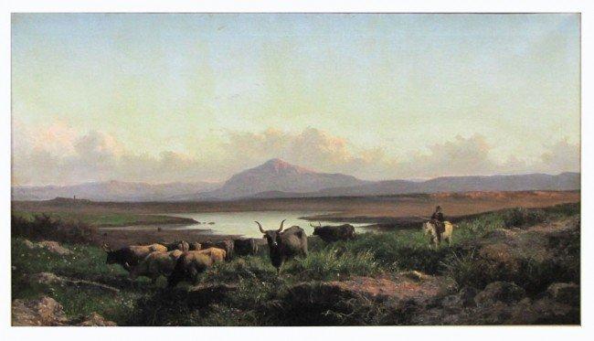 1: ACHILLE VERTUNNI (Italian, 1826-1897)