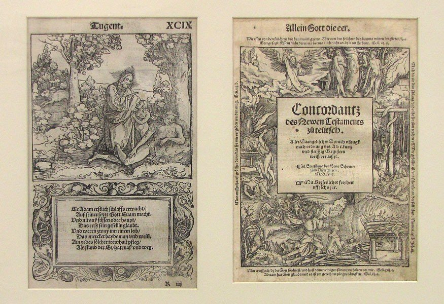23: PRINT/WOODCUT: HANS SCHOTTEN, Germany, 16th c.