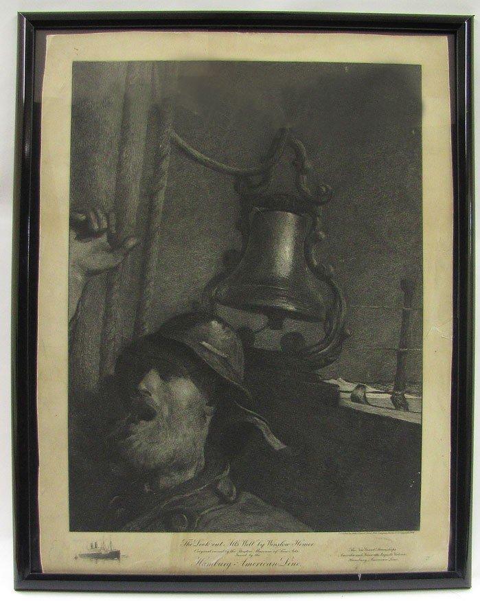 46: PRINT: HOMER, WINSLOW (American, 1836-1910)