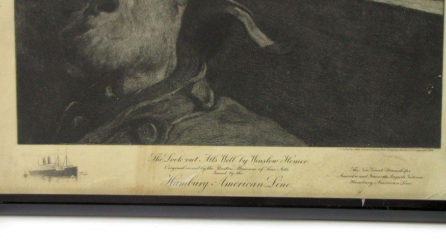 46: PRINT: HOMER, WINSLOW (American, 1836-1910) - 2