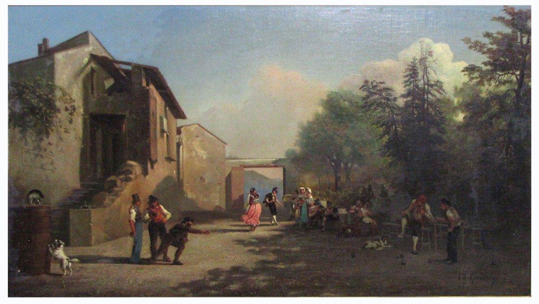 15: CAREL MAX GERLACH ANTON QUAEDVLIEG (Dutch, 1823-187