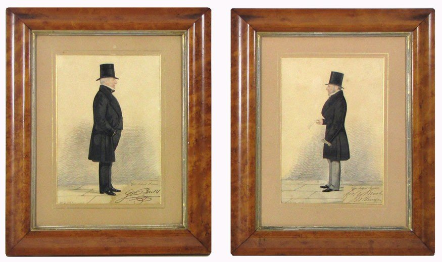 20: (on 2) RICHARD DIGHTON (English, 1785-1880)