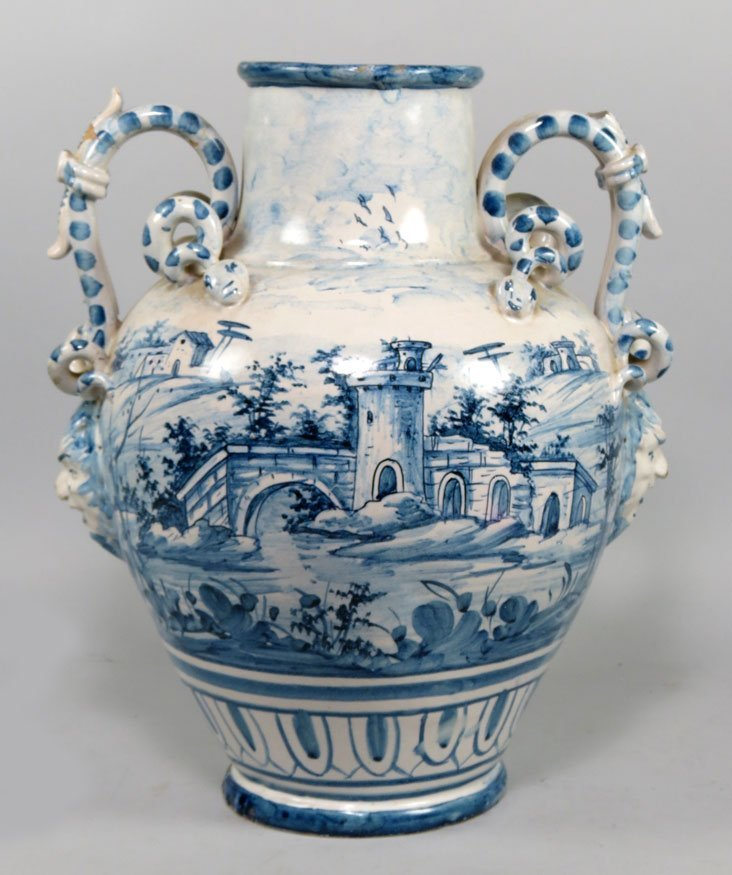 113: ITALIAN GLAZED CERAMIC JUG