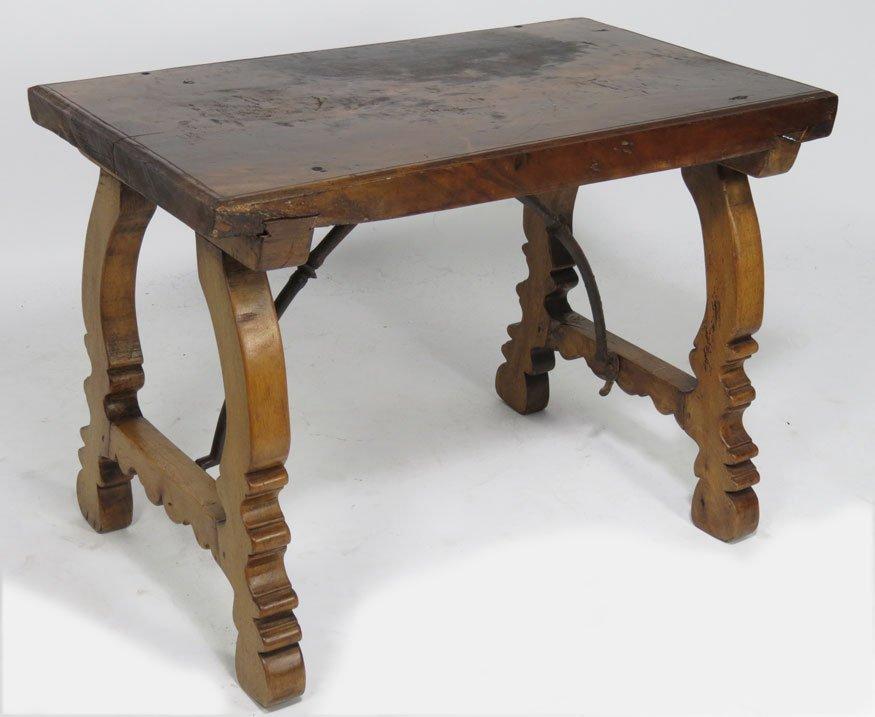 126: SMALL ITALIAN WALNUT TABLE