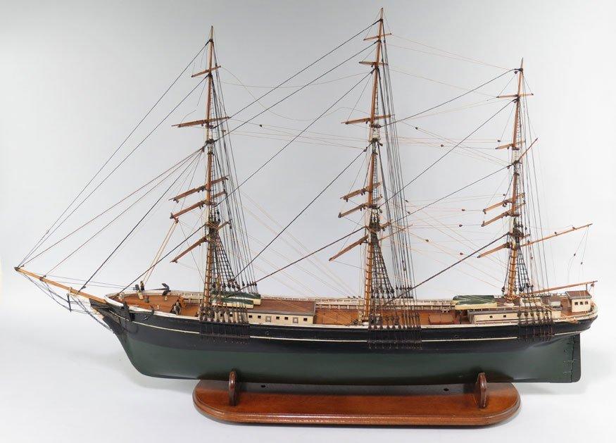 196: BOSTON SHIP MODEL, CLIPPER SHIP GLORY OF THE SEAS