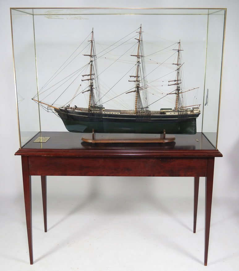 196: BOSTON SHIP MODEL, CLIPPER SHIP GLORY OF THE SEAS - 3