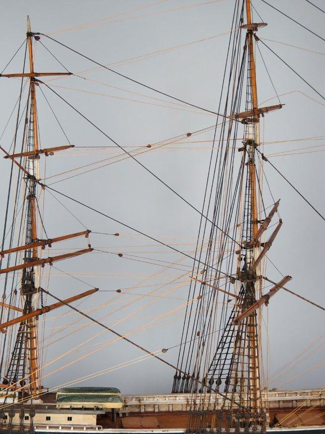196: BOSTON SHIP MODEL, CLIPPER SHIP GLORY OF THE SEAS - 4
