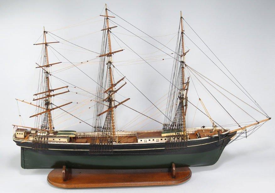 196: BOSTON SHIP MODEL, CLIPPER SHIP GLORY OF THE SEAS - 6