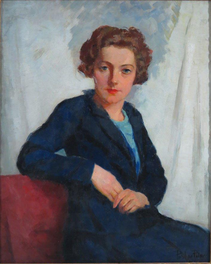 PAULINE LENNARDS PALMER (American, 1867-1938)