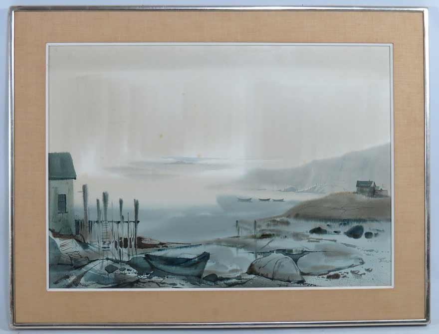 LYNN E. SISSON (Canadian, 20th c.)
