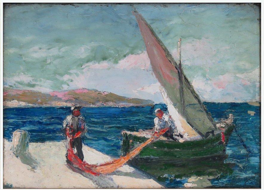 H. RIGGI (Russian, c. 1910)