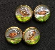 PAIR OF GOLD CUFF LINKS