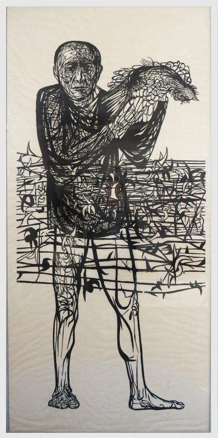 LEONARD BASKIN (American, 1922-2000)