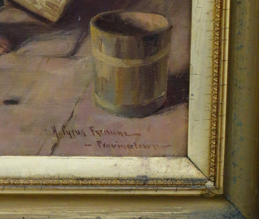 H. CYRUS FARNUM (American, b. 1886) - 2