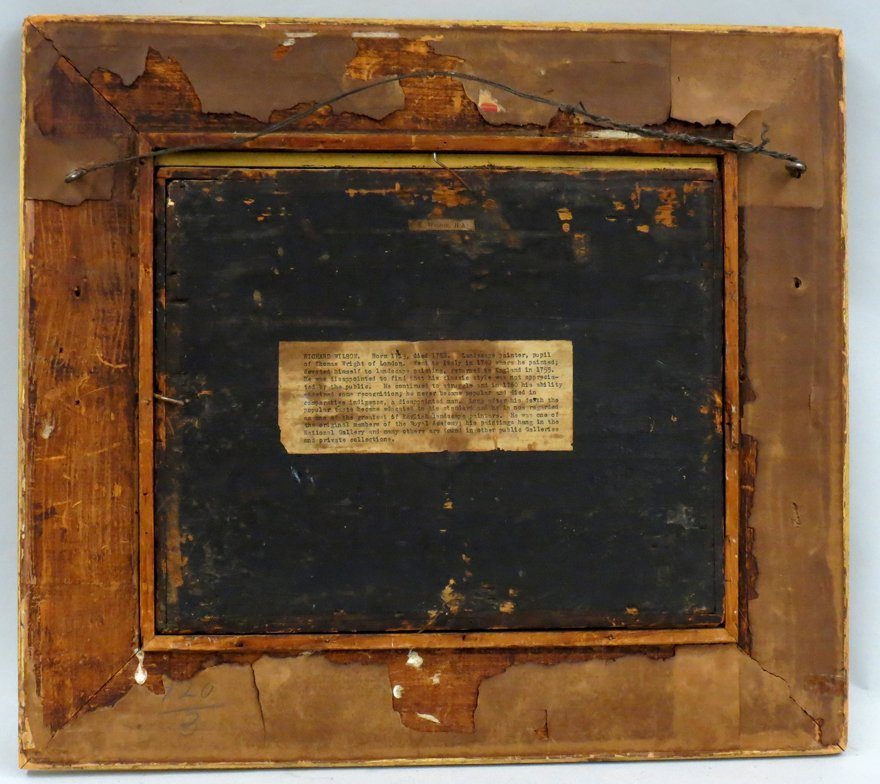 RICHARD WILSON (English, 1713-1782) - 3