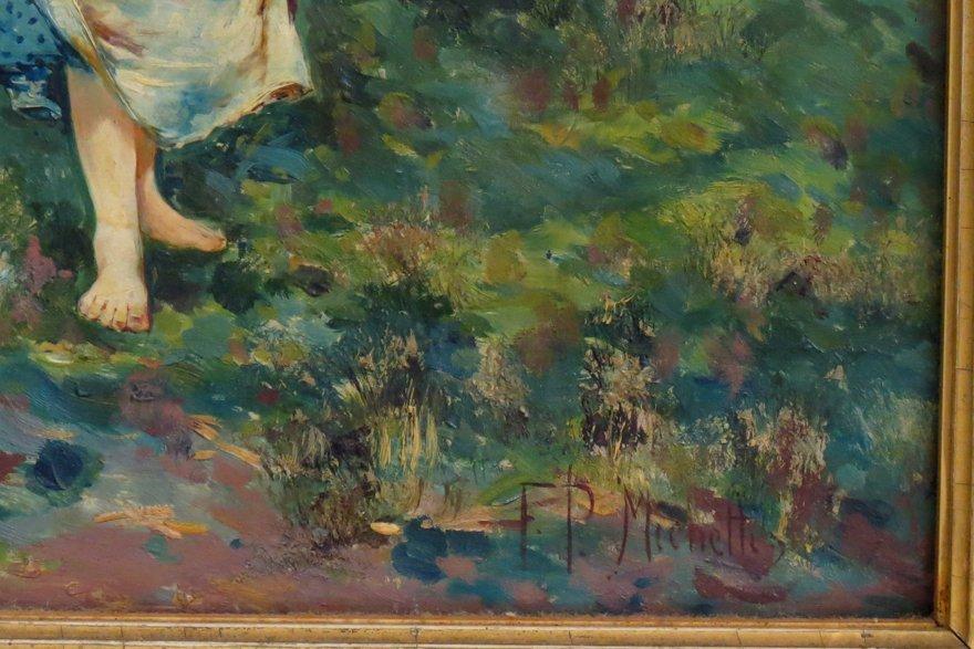 FRANCESCO PAOLO MICHETTI (Italian, 1851-1929) - 2