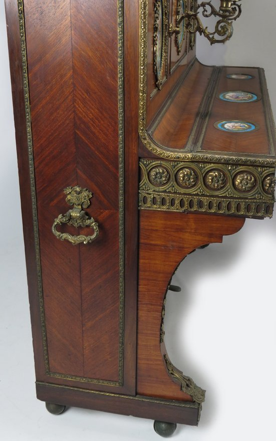 FRENCH NAPOLEON III UPRIGHT ART-CASED PIANO - 3