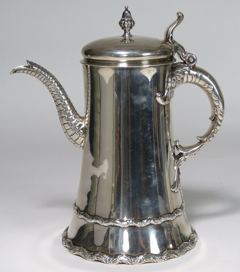 WHITING STERLING SILVER COFFEE POT
