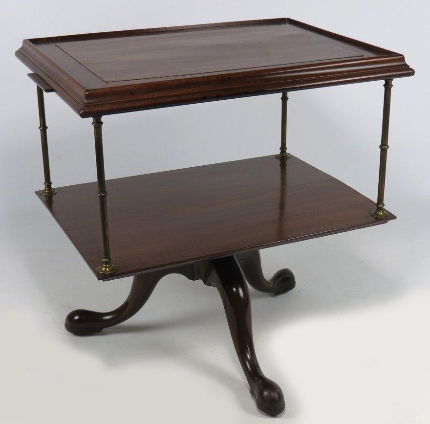 ENGLISH GEORGE III MAHOGANY ARCHITECT'S TABLE - 2