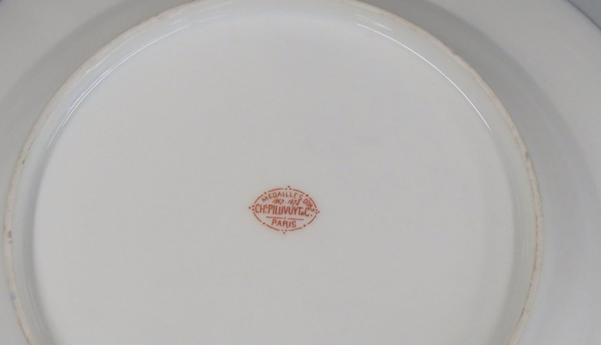 (on 48) 19TH C. FRENCH PORCELAIN DINNER WARE - 2