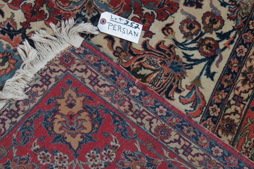 ANTIQUE PERSIAN RUG - 2