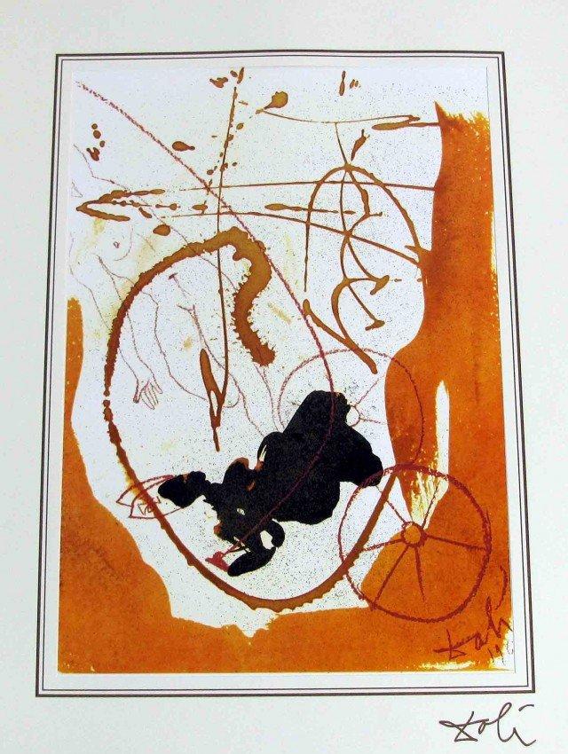 90990: Salvador Dali Bible Lithograph Ars Mundi X-319