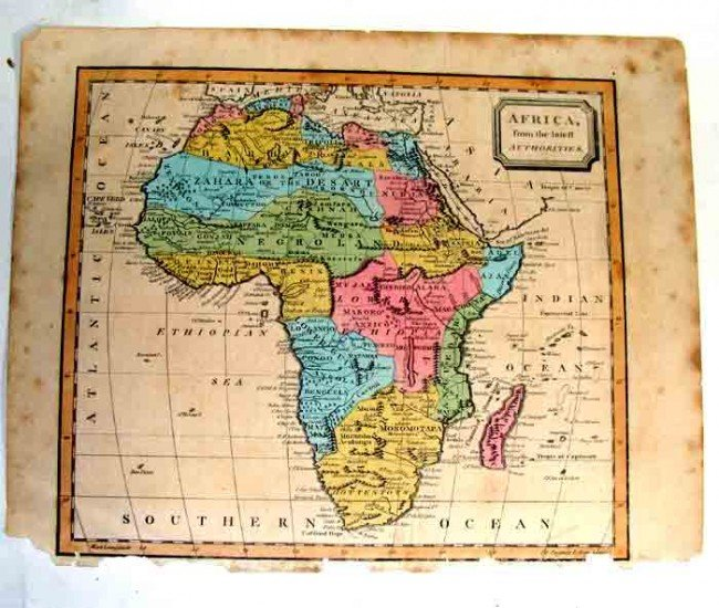 90987: Ancient Map Collection of 5 Printed 1790-1801