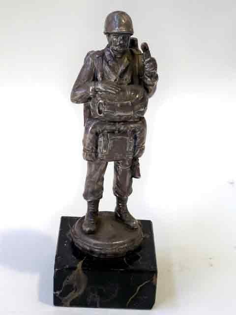5: Antique Metal Soldier Army Man