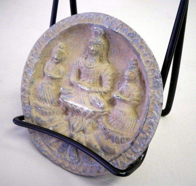 15: 500 AD Hand Crafted Coandhara Buddha w/ Attendants