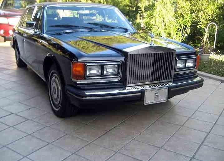 Excellent 1986 Rolls Royce Silver Spur w/ Low Mileage